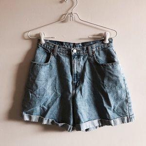 Denim Vintage GAP Mom Shorts